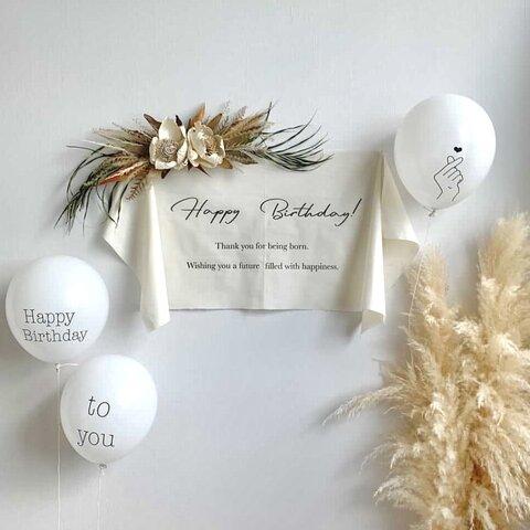 【即日発送】バースデータペストリー 誕生日飾り ハーフバースデー 100日記念 ニューンボーンフォト