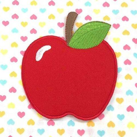 りんご 【大きい】アップリケ (PM-Apple)