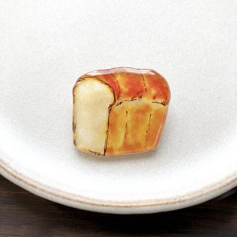 Bread brooch|食パン一斤まるまるブローチ