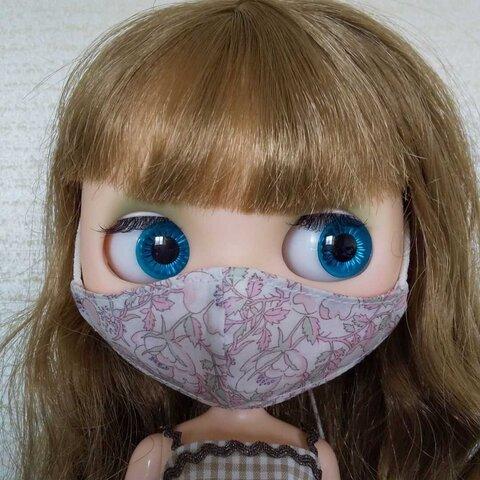 ブライス用 立体マスク リバティ生地 花柄