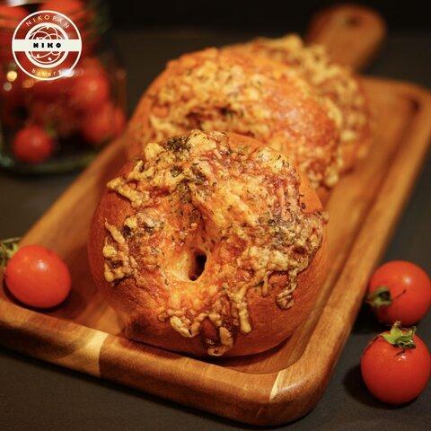【ベーグル5個】トマト&チーズ