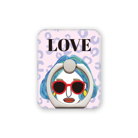 """スマホリング・""""LOVE"""""""