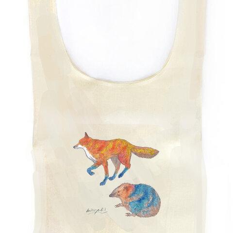 マルシェバッグ -Fox and Hedgehog-