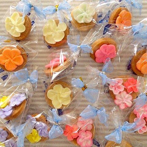 【お花】アイシングクッキー!