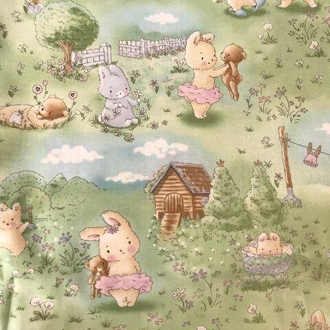 USAコットン ウサギさんとクマちゃん抱っこ*ほんわか可愛い その3♡