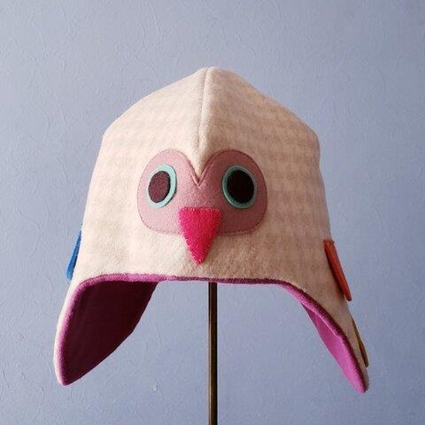 ふくろう帽子▲ 52size(目安3~4歳)
