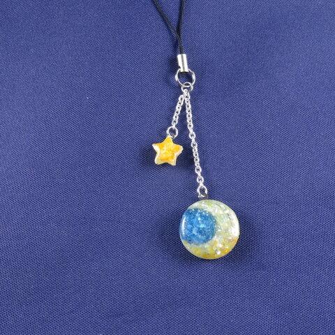 Moon & Star(小)ストラップ