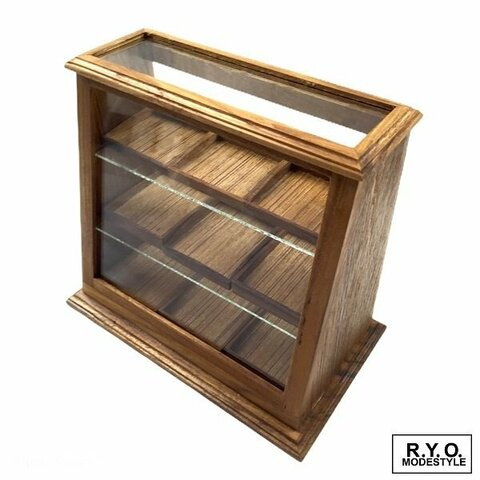 大人気 ミニチュア ショーケース 木製ガラスケース コレクション ガラスケース