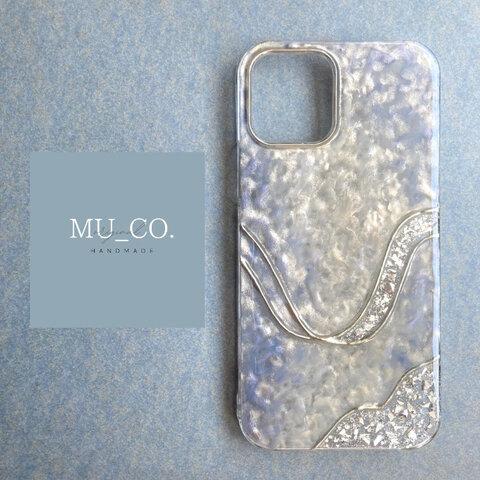 【iPhone13series対応】 MU_CO. original nuance iPhone case     【gleam】グリーム  フルペイント