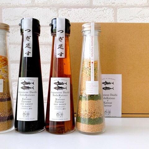 [Gift]Japanese Dashi Katsuoflavor soysauce +powderdressing