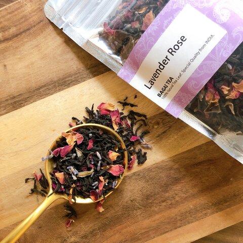 紅茶【BAGAI TEA】ラベンダーローズ