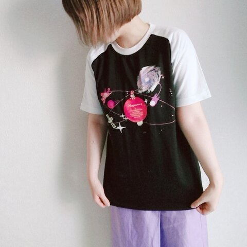 【星空屋】宇宙柄 Tシャツ☆*.+゚