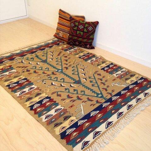 手織りラグ  ターキッシュキリム kilim ✳︎送料無料