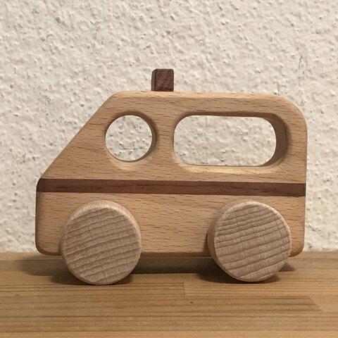 木製 手押し車 (救急車)