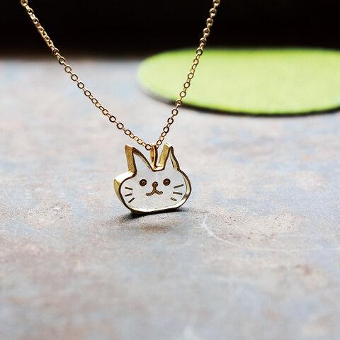 ねこちゃん ネックレス N328