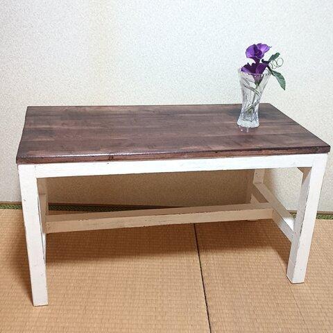 ローテーブル コーヒーテーブル 棚 テレビ台