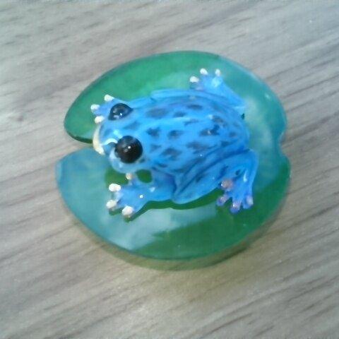 カエルブローチ5