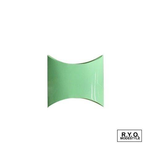 ピローケース 紙箱 Sサイズ  ペパーミントグリーン お得な100枚セット