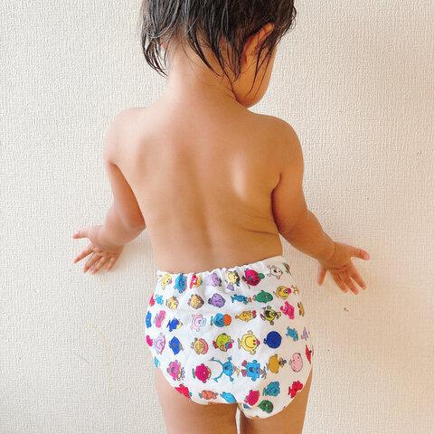 幼児用 パンツの型紙