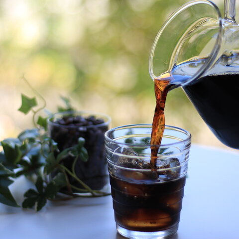 アイスコーヒーにおススメ ice blend 200g 夏 アイスコーヒー アイス 深煎り