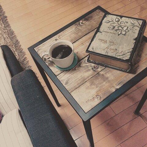 コーヒーテーブル・サイドテーブル【アイアンサイドテーブル/Iron Side table】