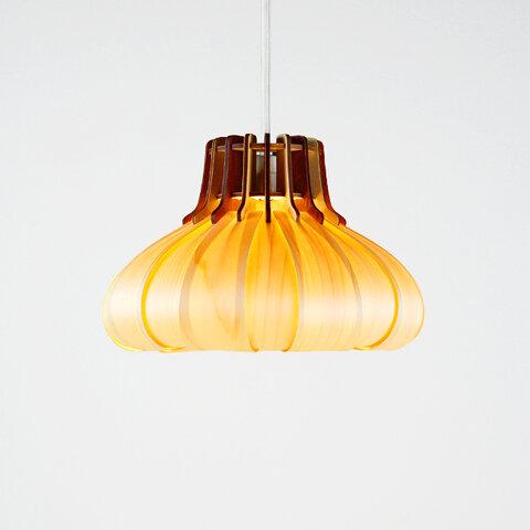 「オニオン」木製ペンダントライト 照明 おしゃれ かわいい