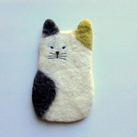 hutte ネコのスマホケース*ミケネコ*