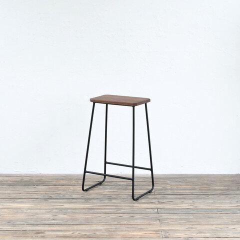 トラぺゾイドスツール HIGH - H630(WALNUT) / 椅子・チェア