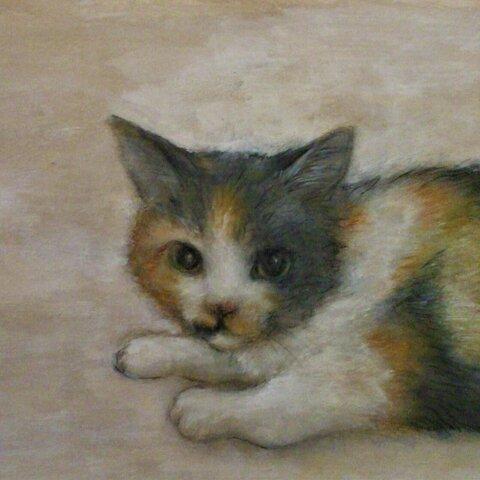 油彩画(似顔絵オーダー)大切な方、ペット、思い出の風景など絵にしてみませんか?
