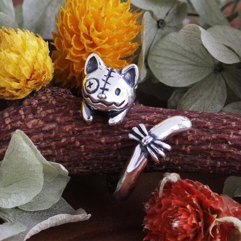 ハロウィン猫のぬいぐるみリング(ハロウィン限定受注生産)