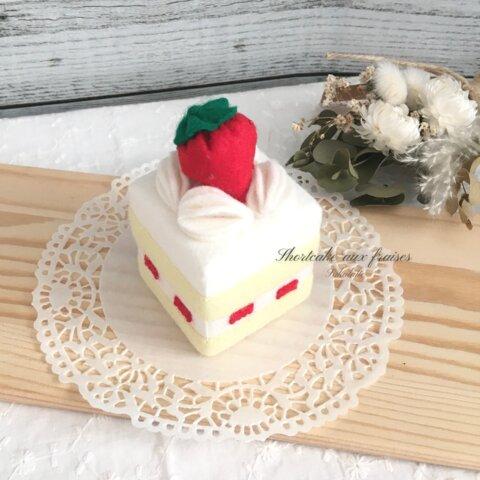 【受注製作】ストロベリーショートケーキ