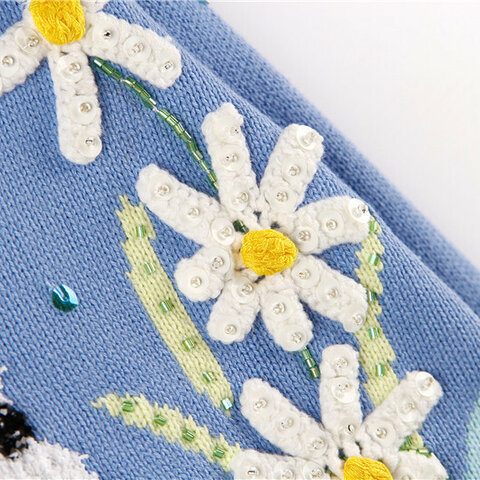 受注制作  春と秋* 可愛いセーター