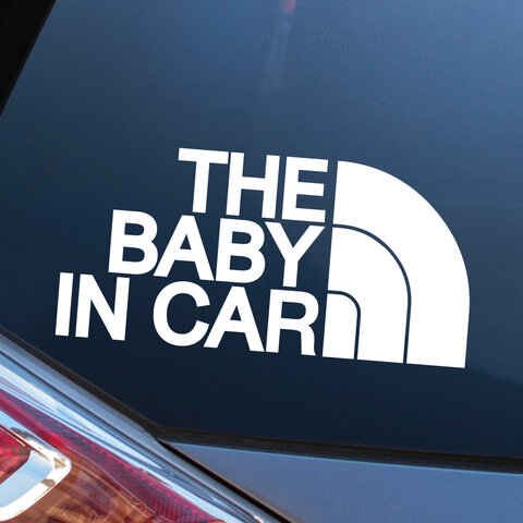 BABY IN CAR  ベイビーインカー カーステッカー カーサイン ベビー 赤ちゃん 子供 車 チャイルド  CHILD おしゃれ かわいい ギフト  500円 送料無料