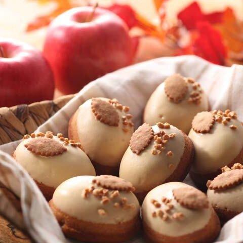 ☆季節限定販売☆『キャラメルりんごケーキ』16個入り☆りんご