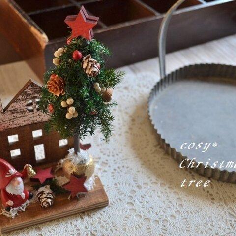 小さなサンタのお家*クリスマスツリー