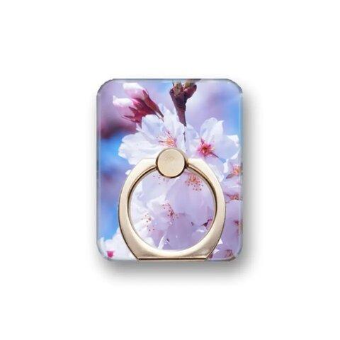 桜14 スマホリング