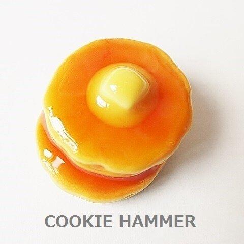 溶けバターホットケーキ ブローチ