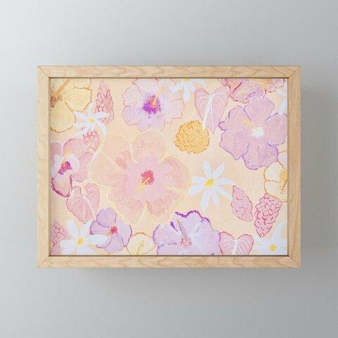 【miniフレームアート】Flower Tab