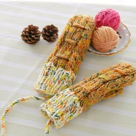【受注生産】【Lady's】ほっこりあたたか冬手袋 NO:009