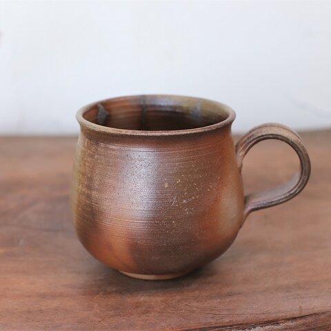 備前焼 コーヒーカップ(中) c2-230