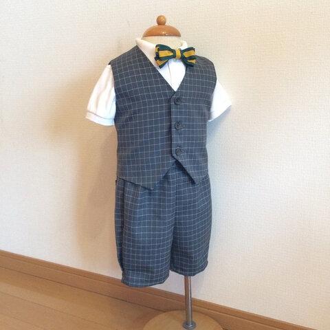 選べる蝶ネクタイ 【セットアップ】スーツ 七五三