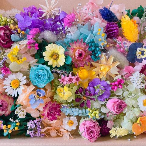 小さなお花達♡ ドライフラワー プリザーブドフラワー花材ハーバリウム花材