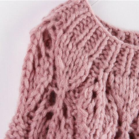 受注制作  秋冬 可愛いセーター  編み物