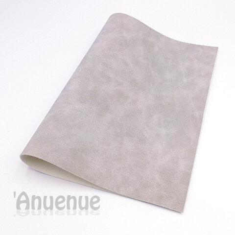 フェイクレザーフェルト A4( Gray / Stone wash )