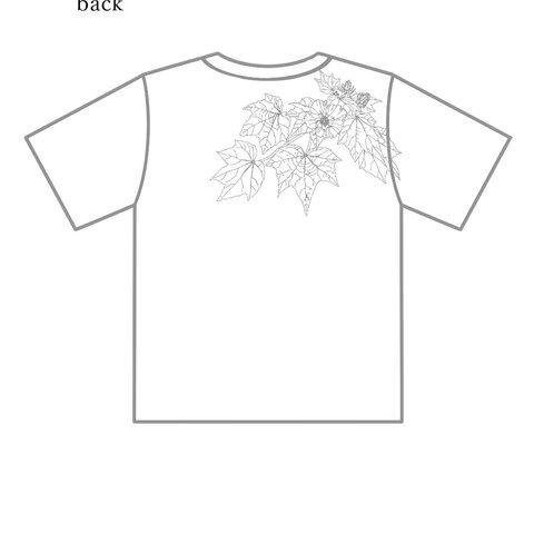 花Tシャツ Sサイズ
