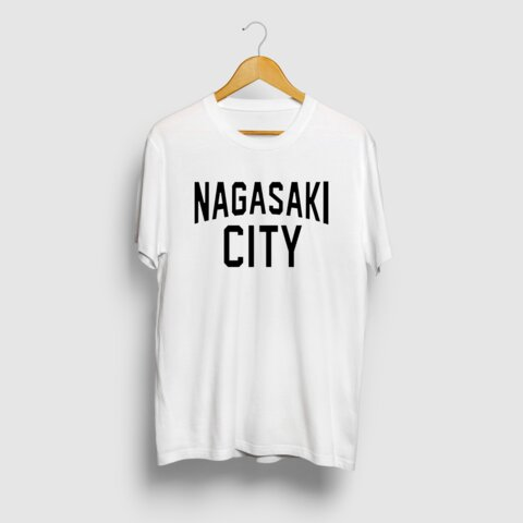 NAGASAKI CITY 長崎シティロゴ Tシャツ