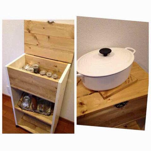 送料無料*kitchen wagon *cabinet h86.3 キャスター付きキッチンワゴン