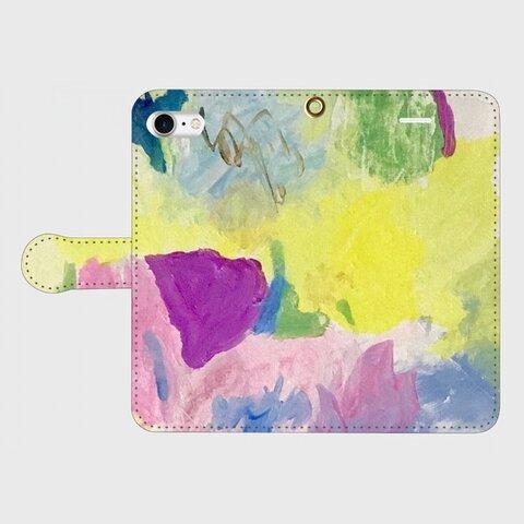 『はるのうた』手帳型スマホケース受注製作