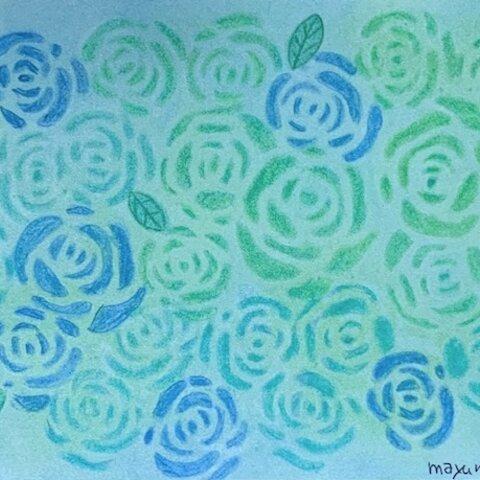 薔薇の花束~原画~