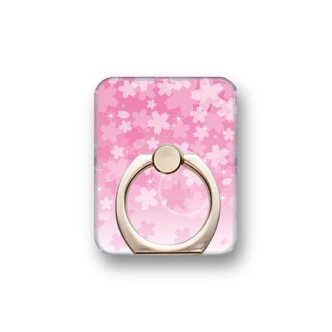 桜4 スマホリング